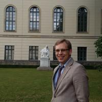 Alex Skufca at the Humboldt-Universität zu Berlin.