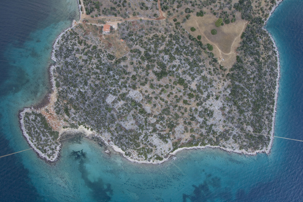 Aerial overview of Kalamianos